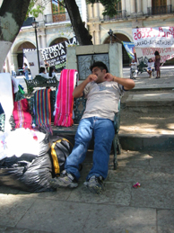 Miguel -- taking a break from selling.