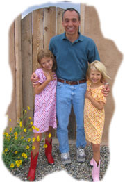 David and granddaughters