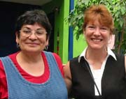 National Endowment for the Humanities Oregon International Council Directors Anne  Mueller & Mary Bastiani