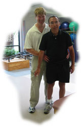 Mike and David Learning to Walk Again